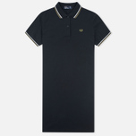 Женское платье Fred Perry Twin Tipped Black фото- 0