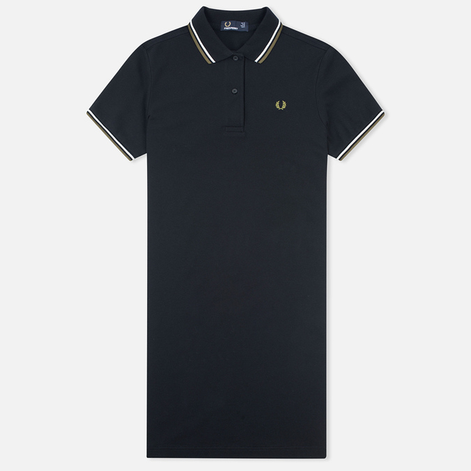 Женское платье Fred Perry Twin Tipped Black