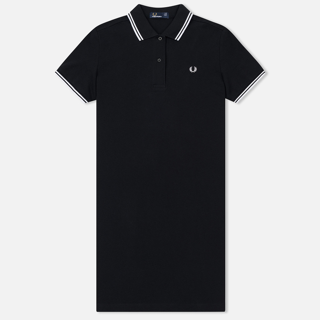 Женское платье Fred Perry Twin Tipped Black/White