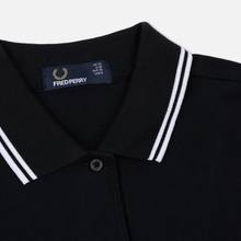 Женское платье Fred Perry Twin Tipped Black/White фото- 1