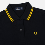 Fred Perry Twin Tipped Women's Dress Black/Yellow photo- 1