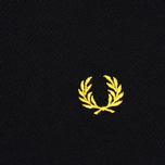 Fred Perry Twin Tipped Women's Dress Black/Yellow photo- 2