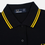Женское платье Fred Perry Twin Tipped Black/Yellow фото- 3