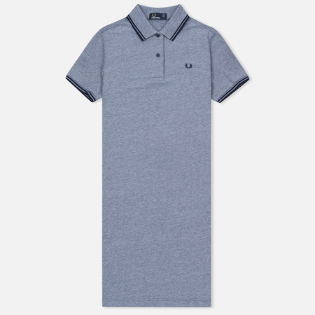 Женское платье Fred Perry Twin Tipped Carbon Blue