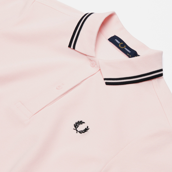 Женское платье Fred Perry Twin Tipped Iced Pink