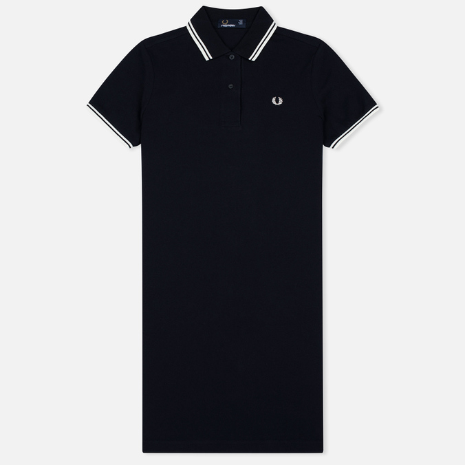 Женское платье Fred Perry Twin Tipped Navy/White