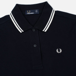 Fred Perry Twin Tipped Women's Dress Navy/White photo- 1