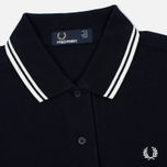 Fred Perry Twin Tipped Women's Dress Navy/White photo- 3