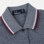 Женское платье Fred Perry Twin Tipped White/Carbon Blue Oxford фото- 1