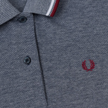 Женское платье Fred Perry Twin Tipped White/Carbon Blue Oxford фото- 2