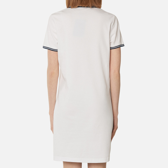 Женское платье Fred Perry Twin Tipped White