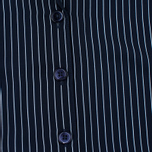 Женское платье Gant Rugger Sleeveless Pinstriped Yankee Blue фото- 2