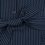 Женское платье Gant Rugger Sleeveless Pinstriped Yankee Blue фото- 4
