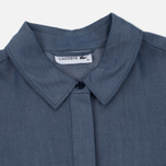Женское платье Lacoste Denim Chest Pocket Twill Shirt Blue фото- 1