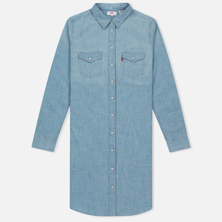 Женское платье Levi's Iconic Western Grunge Blue