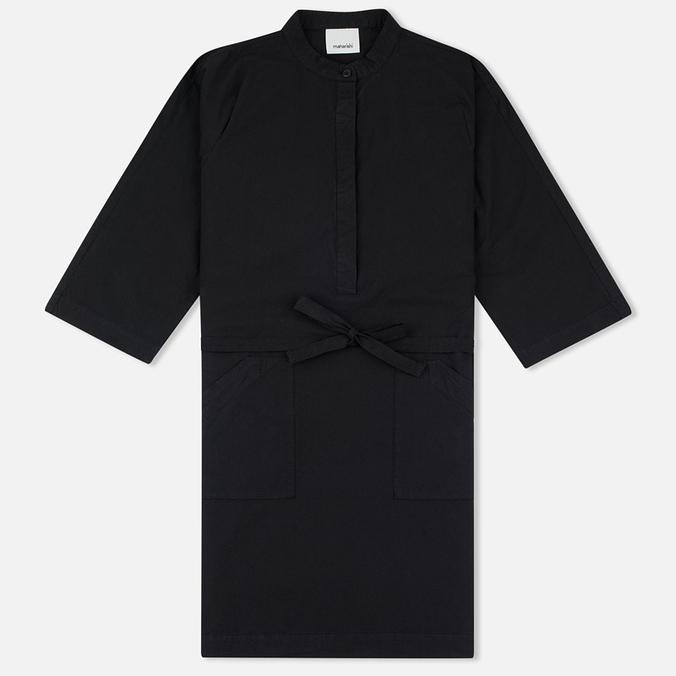 Женское платье maharishi Kurta Garment Dyed Black