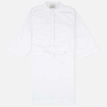 Maharishi Kurta Garment Dyed Women's Dress Optic White