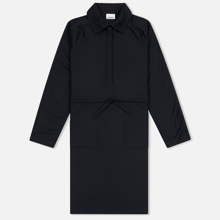 Женское платье maharishi Officer Super 80's Flannel Wool Black