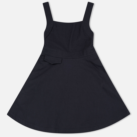 Maison Kitsune Abre Cotton Pinafore Women's Dress Black