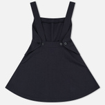 Женское платье Maison Kitsune Abre Cotton Pinafore Black фото- 1