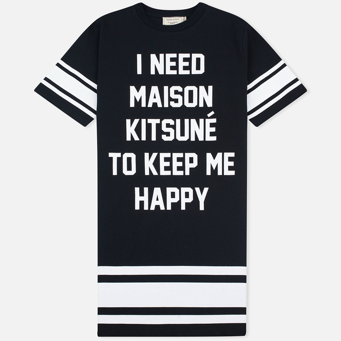 Женское платье Maison Kitsune I Need Black