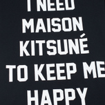 Женское платье Maison Kitsune I Need Black фото- 3