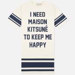 Женское платье Maison Kitsune I Need Ecru фото- 0