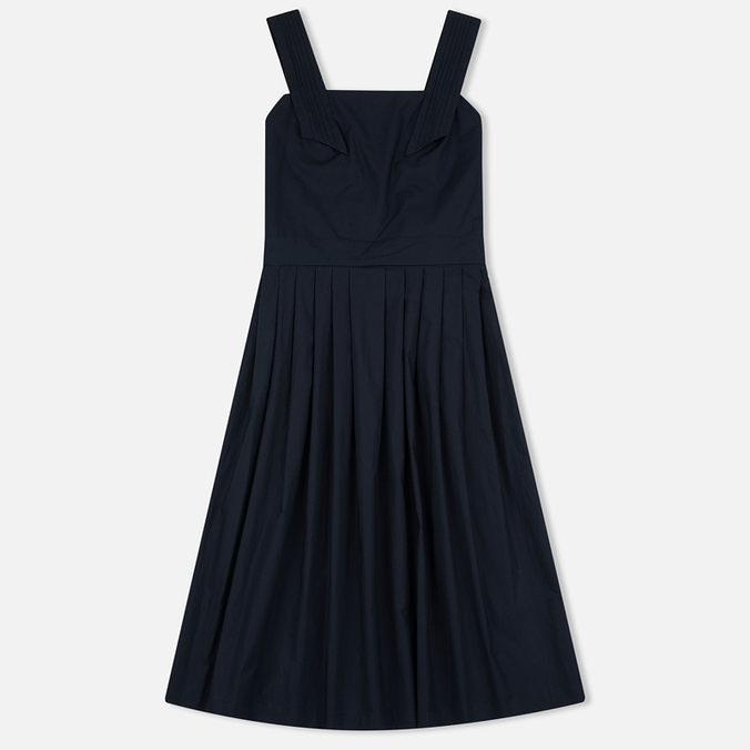 Женское платье Maison Kitsune Iris Open Back Long Dark Navy