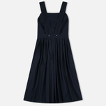 Женское платье Maison Kitsune Iris Open Back Long Dark Navy фото- 1