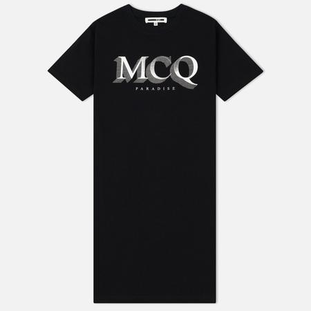 Женское платье McQ Alexander McQueen MCQ Paradise Small Darkest Black