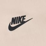Женское платье Nike Essentials Tech Fleece Pearl White/Black фото- 2