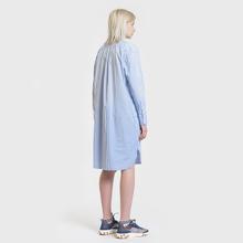 Женское платье Polo Ralph Lauren Chigo LS Sunfade Stripe Blue/White фото- 3