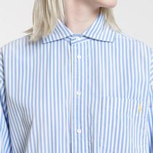Женское платье Polo Ralph Lauren Chigo LS Sunfade Stripe Blue/White фото- 2