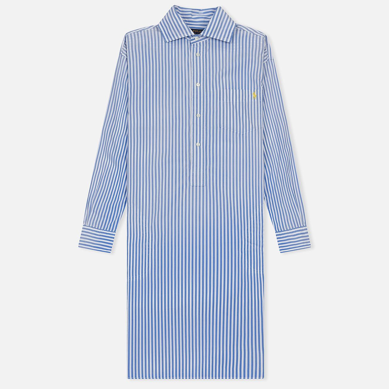 Женское платье Polo Ralph Lauren Chigo LS Sunfade Stripe Blue/White