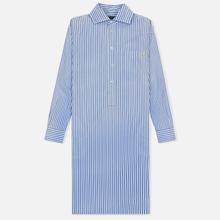 Женское платье Polo Ralph Lauren Chigo LS Sunfade Stripe Blue/White фото- 0