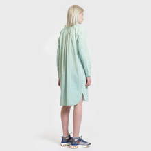 Женское платье Polo Ralph Lauren Chigo LS Sunfade Stripe Seafoam Green/White фото- 3