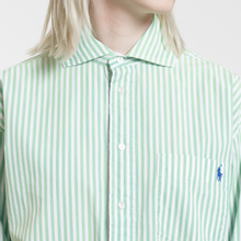 Женское платье Polo Ralph Lauren Chigo LS Sunfade Stripe Seafoam Green/White фото- 2