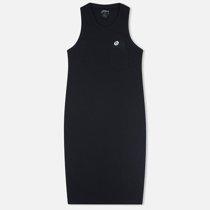 Женское платье Stussy 8 Ball Maxi Black