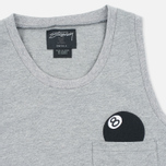 Женское платье Stussy 8 Ball Maxi Grey Heather фото- 2