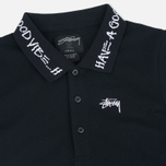 Женское платье Stussy Good Vibe Polo Black фото- 1