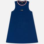 Женское платье Stussy Magnolia A Line Blue фото- 0
