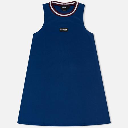 Женское платье Stussy Magnolia A Line Blue