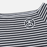 Женское платье Stussy SS Stripe Bodycon Black фото- 1