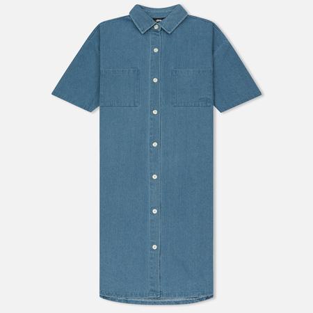 Женское платье Stussy Vernon Denim Blue