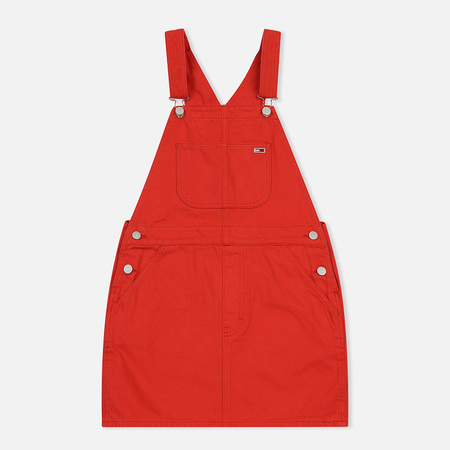 Женское платье Tommy Jeans Classic Dungaree Flame Scarlett Rig