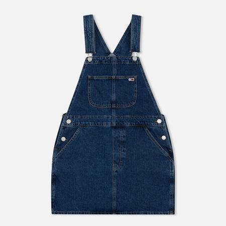 Женское платье Tommy Jeans Classic Dungaree Prep Mid Stone Rigid