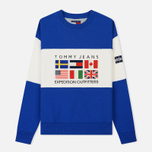 Женская толстовка Tommy Jeans Crew Neck Expedition 6.0 Surf The Web фото- 0