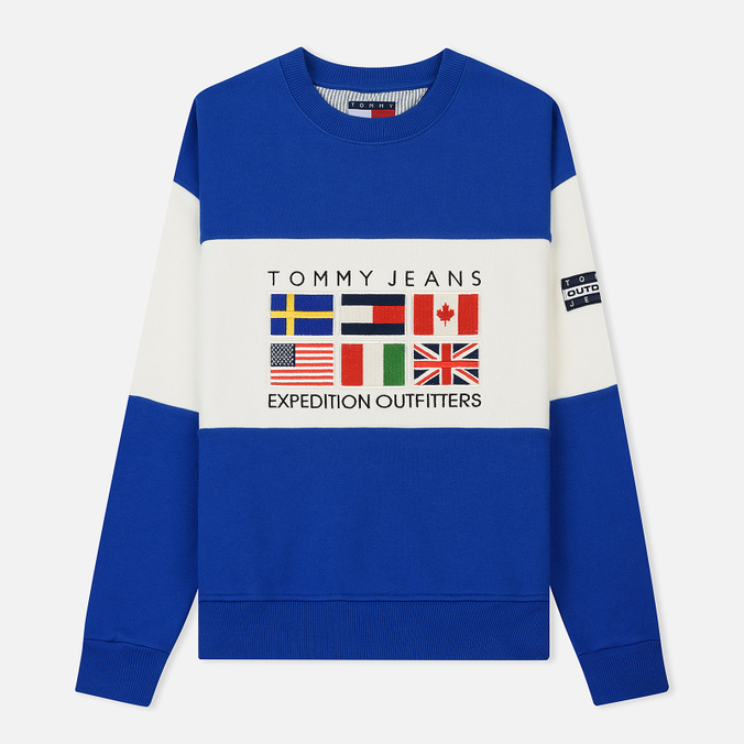 Женская толстовка Tommy Jeans Crew Neck Expedition 6.0 Surf The Web
