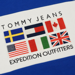 Женская толстовка Tommy Jeans Crew Neck Expedition 6.0 Surf The Web фото- 2