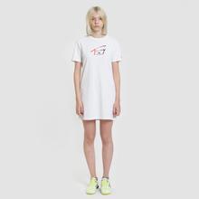 Женское платье Tommy Jeans Graphic Tee Classic White фото- 1